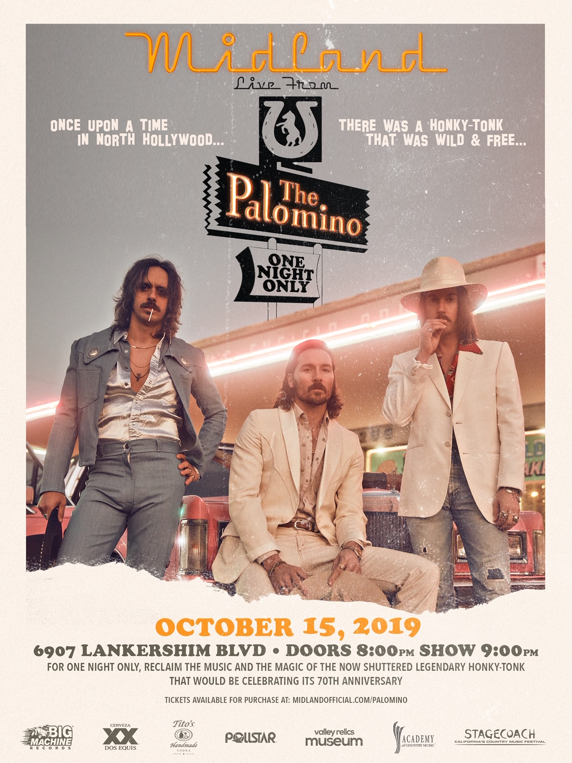 Midland 10.3 at The Palomino Club